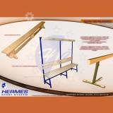 Hermes шведска клупа,гимнастичка греда,клупи за соблекувални