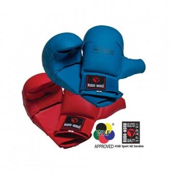 BUDO NORD WKF ракавици со заштита на палец  Сини