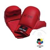 BUDO NORD WKF  ракавици со заштита на палец  Црвена
