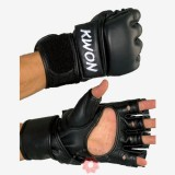 KWON Ракавици Ultimatet Црни кожни