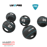 LIVEPRO Double grip medicine ball