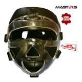 MASTERS Заштитна кацига со маска црна