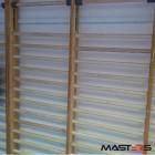 Masters дрвен sиден рипстол